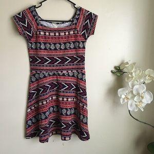 Forever 21 Multi-Patterned Dress