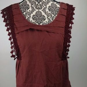 Anthropologie Odille womens blouse size 8