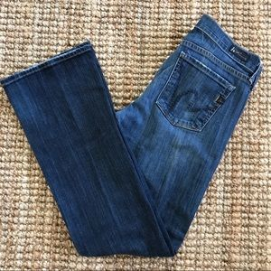 CoH Jeans Dita Petite Bootcut Women's 28x29 Faded