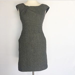 Banana Republic Gray Wool Dress