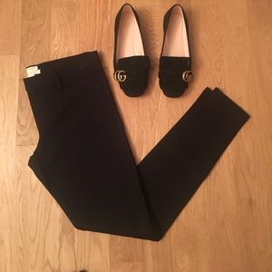 New J. Crew black Gigi pant