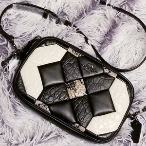 NWT Coach Black Canyon Quilt Leather Crossbody