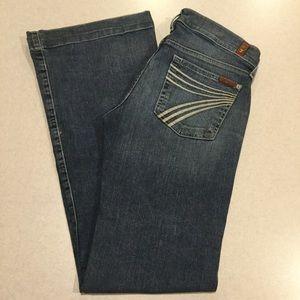 7 For All Mankind Jeans 27X33.5 Dojo In New Nolita