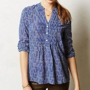 Blue & White Shirt by HD in Paris