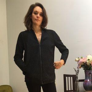 Zara jacket in dark navy