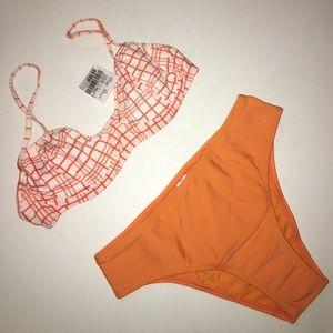 Other - NEW orange bikini set