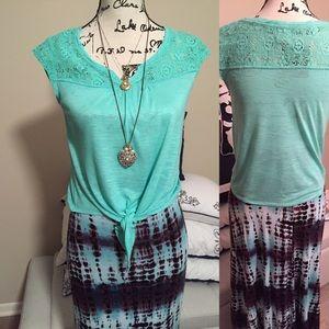 America Rag mint blouse - S
