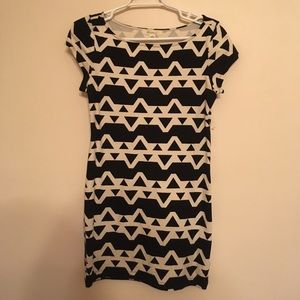 Forever 21 Geo fitted dress