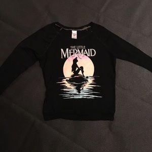 Soft as a cloud little mermaid top