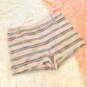 LOFT Striped Boho Riviera Shorts