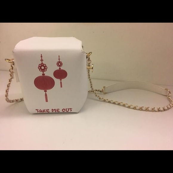 Forever 21  take me out  Chinese to-go box purse : chinese to go boxes - Aboutintivar.Com