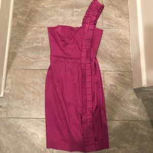 Magenta cocktail dress- Jessica Simpson