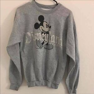 Disneyland Grey Crewneck