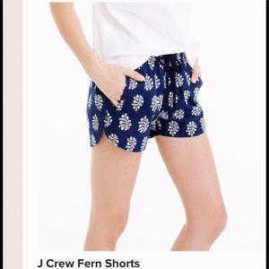 J crew XXS shorts