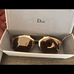 Dior Reflected/S sunglasses in gold/navy