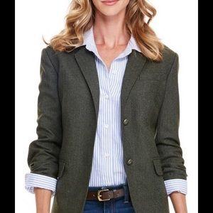 Vineyard Vines Green Wool Blazer Size 2