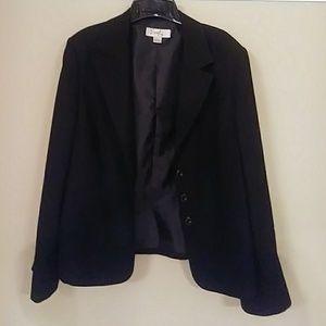 Emily black bell sleeves jacket 18