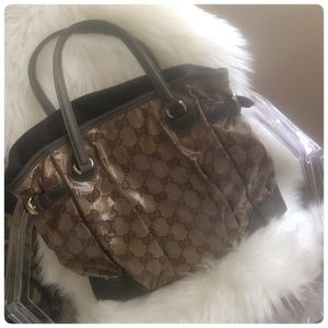 Authentic Large Gucci Tote
