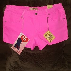 Hybrid & Company Pink Stretch Shorts, Size 15.