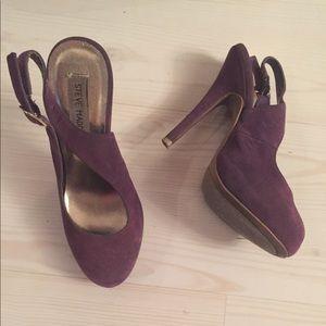 Steve Madden purple pumps