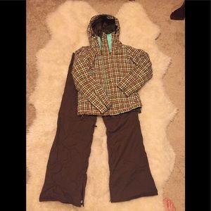 Burton Snowboard Jacket and Pant Set