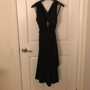 WHBM black dress size 0