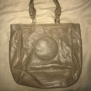 LARGE Tory Burch Leather Tote/shoulder bag