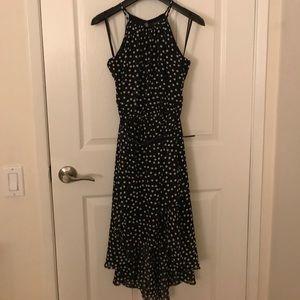 WHBM polka dot dress with belt size 00