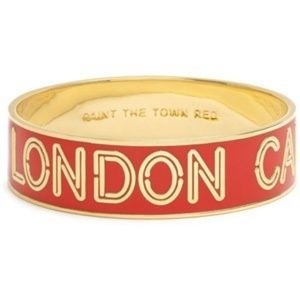 Kate Spade Bangle 14 kt gold plated London Calling
