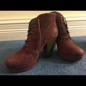 Steve Madden Thick-Heeled Booties