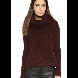 J. Crew wool blend chunky knit turtleneck sweater