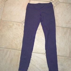 Purple herringbone rare leggings.