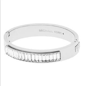 Michael Kors Crystal Silver Bracelet NEW MSRP$175