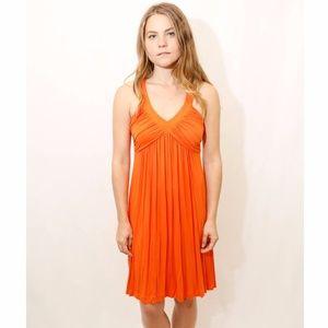 Calvin Klein Orange Sundress Size 6
