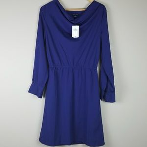 Banana Republic cowl neck dress