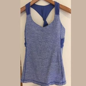 LULULEMON Twisted Raceback Wee Are From Space Tank