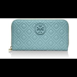 TORY BURCH Marion quilted zip continental wallet