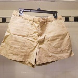 Like new khaki shorts
