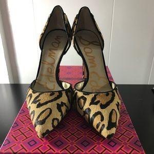 Sam Edelman Leopard Heels (Telsa D'Orsay)