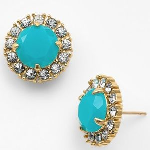Kate Spade turquoise stud earrings.