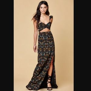{Nightwalker} bloom maxi dress 🔷