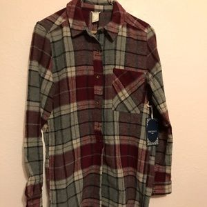 NWT Forever 21 long flannel dress