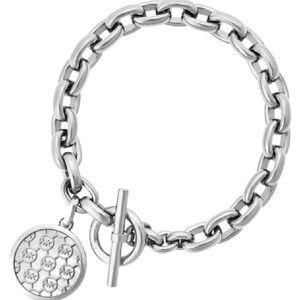 Michael Kors Logo Silver Chain Bracelet MSRP$155