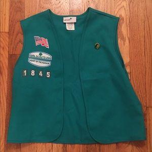 Girl Scout Juniors Vest in EUC - Halloween
