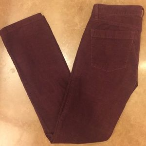 Like new J Crew Matchstick corduroy pants