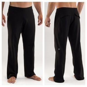Lululemon men's kung fu martial art sweat pants