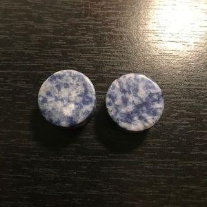 Blue marble flare plugs