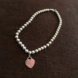 Tiffany &co mini bead bracelet sterling silver
