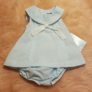 Sailor Girl Dress[New] 3M
