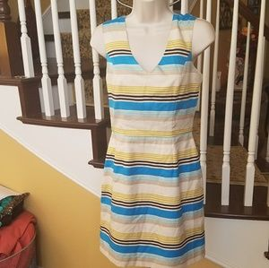 Banana Republic vneck sleeveless dress size 2P